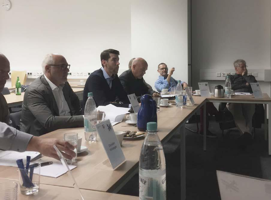 """Jury of the """"Tug-Bauprojekt"""" project competition"""